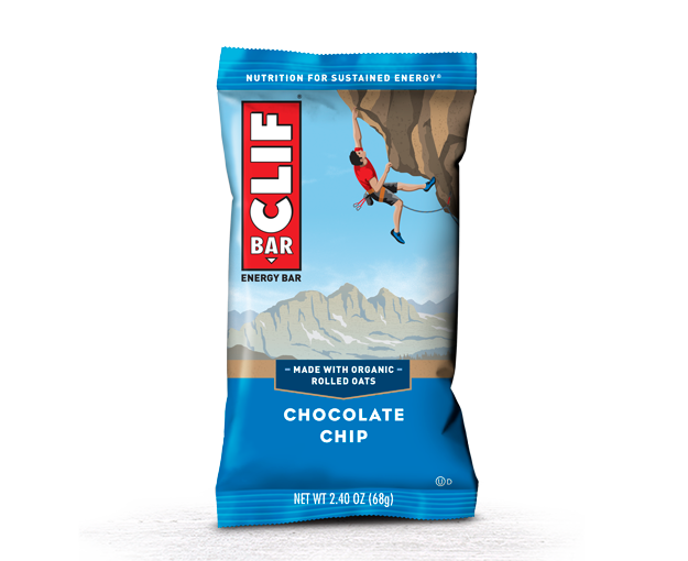 CLIF CHOCOLATE CHIP CLIF 12/2.4 OZ
