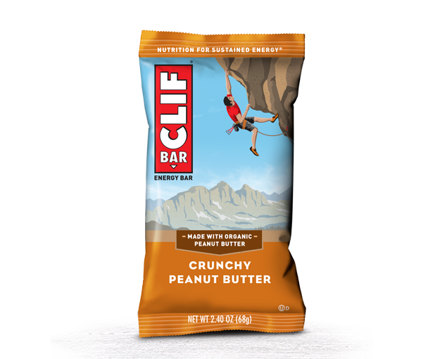 CLIF CRNCHY PEANUT BUTTER CLIF 12/2.4 OZ