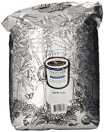COFFEE TOGETHER DECAF GROUND OG JIM'S 5 LBS