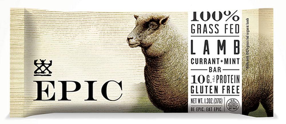 EPIC LAMB CURRANT MINT BAR EPIC 12/1.3 OZ