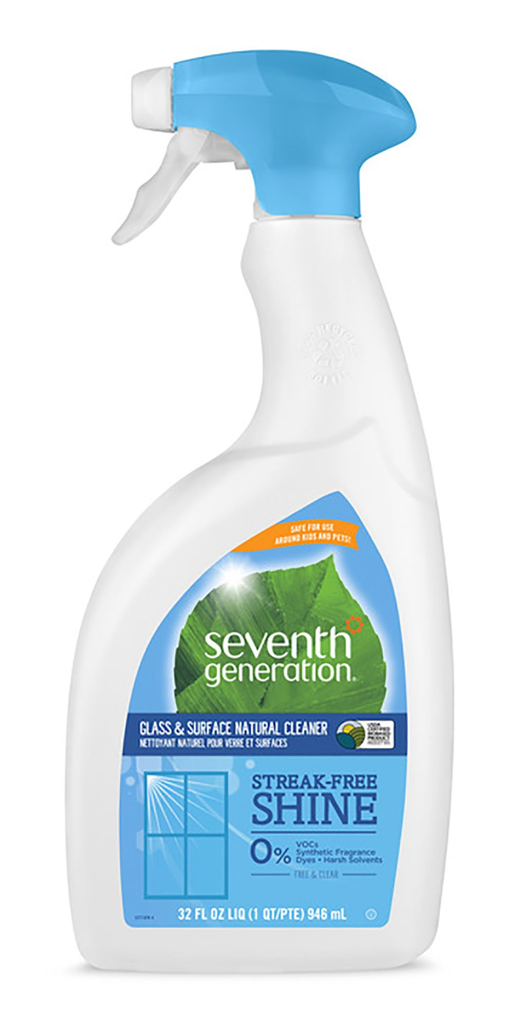 HSH/CLEANER GLASS FREE & CLEAR SEVENTH 8/32 OZ