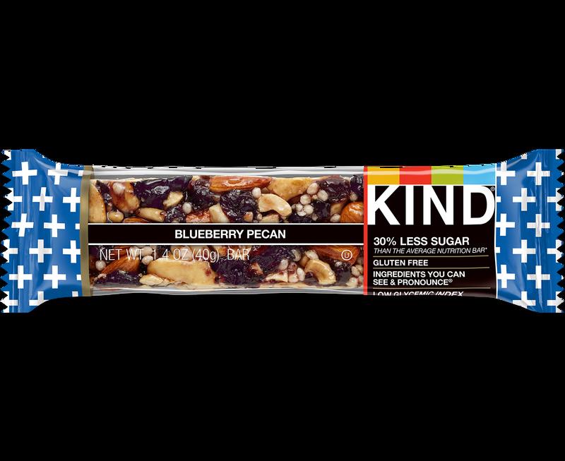 KIND BLUEBERRY PECAN & FIBER KIND 12/1.4 OZ