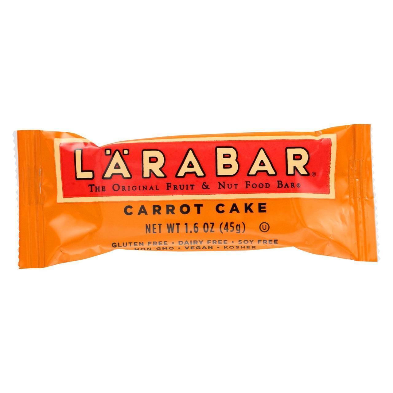 NUTRITIONAL CARROT CAKE LARABAR 16/1.6 OZ