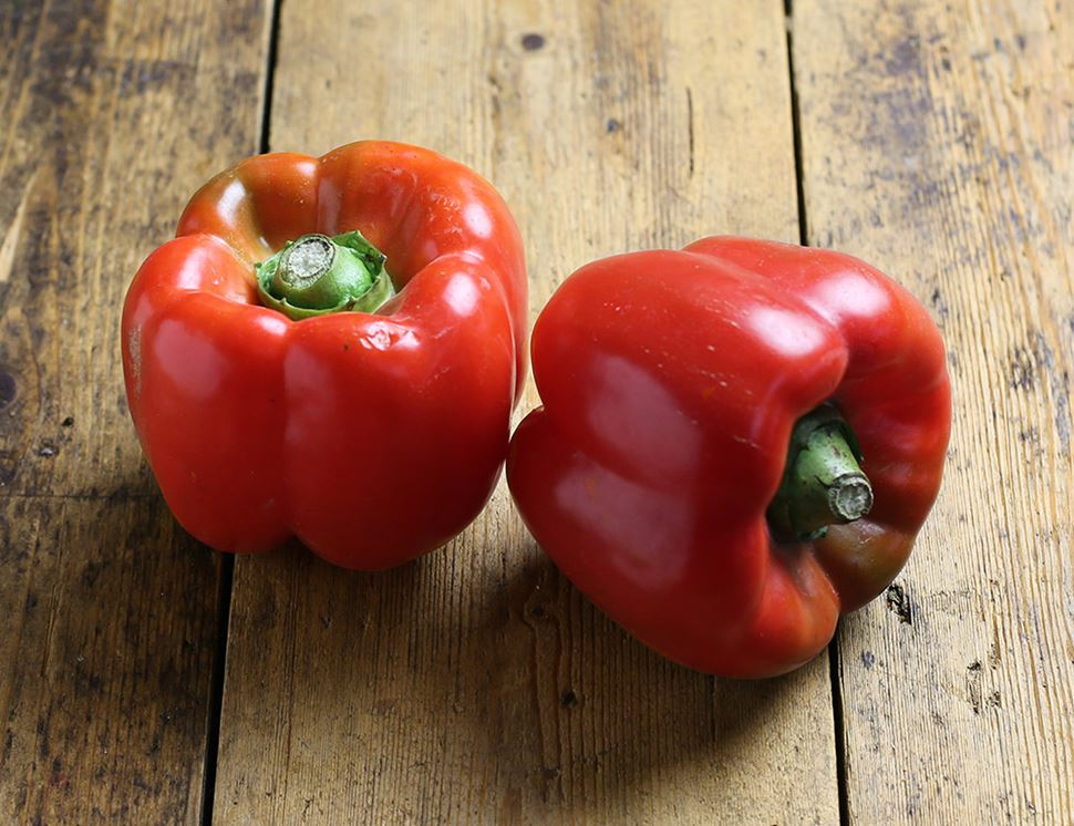 PEPPERS BELL RED OG BULK P 11 LBS