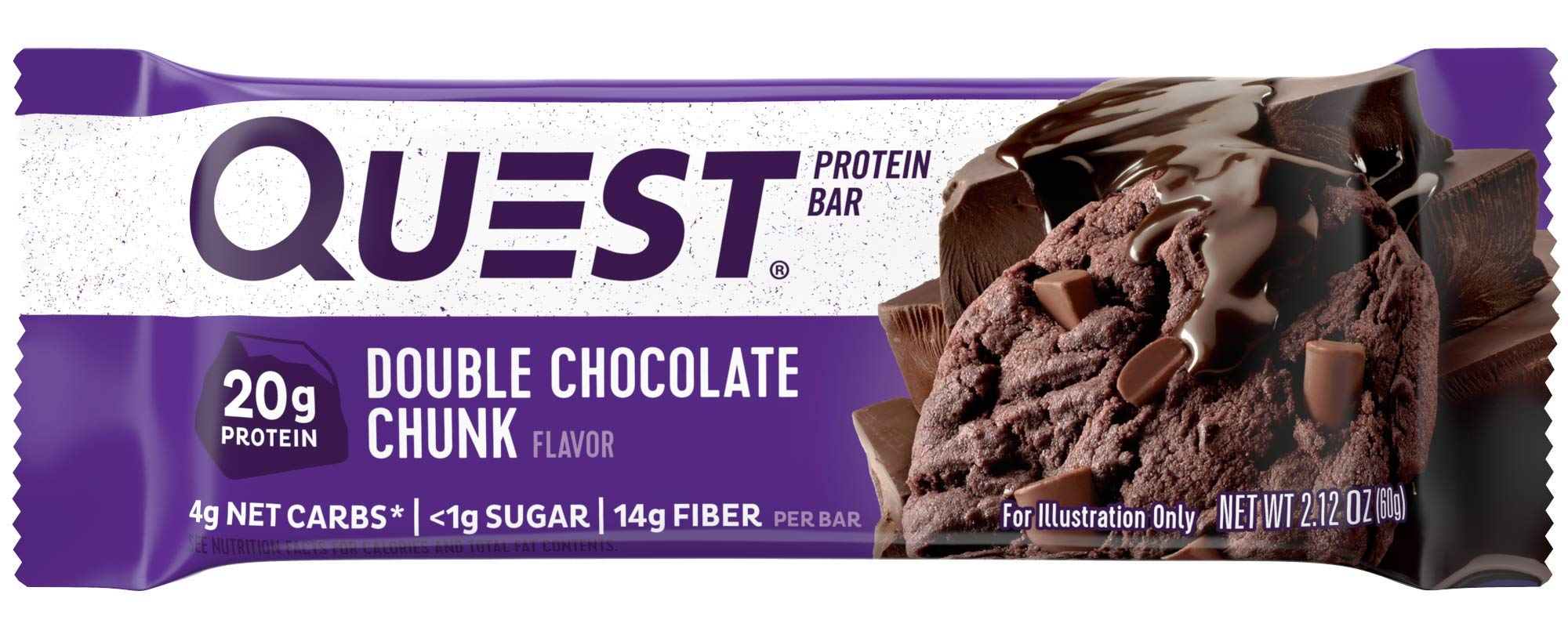 QUEST DOUBLE CHOCOLATE CHUNK QUEST 12/2.12 OZ