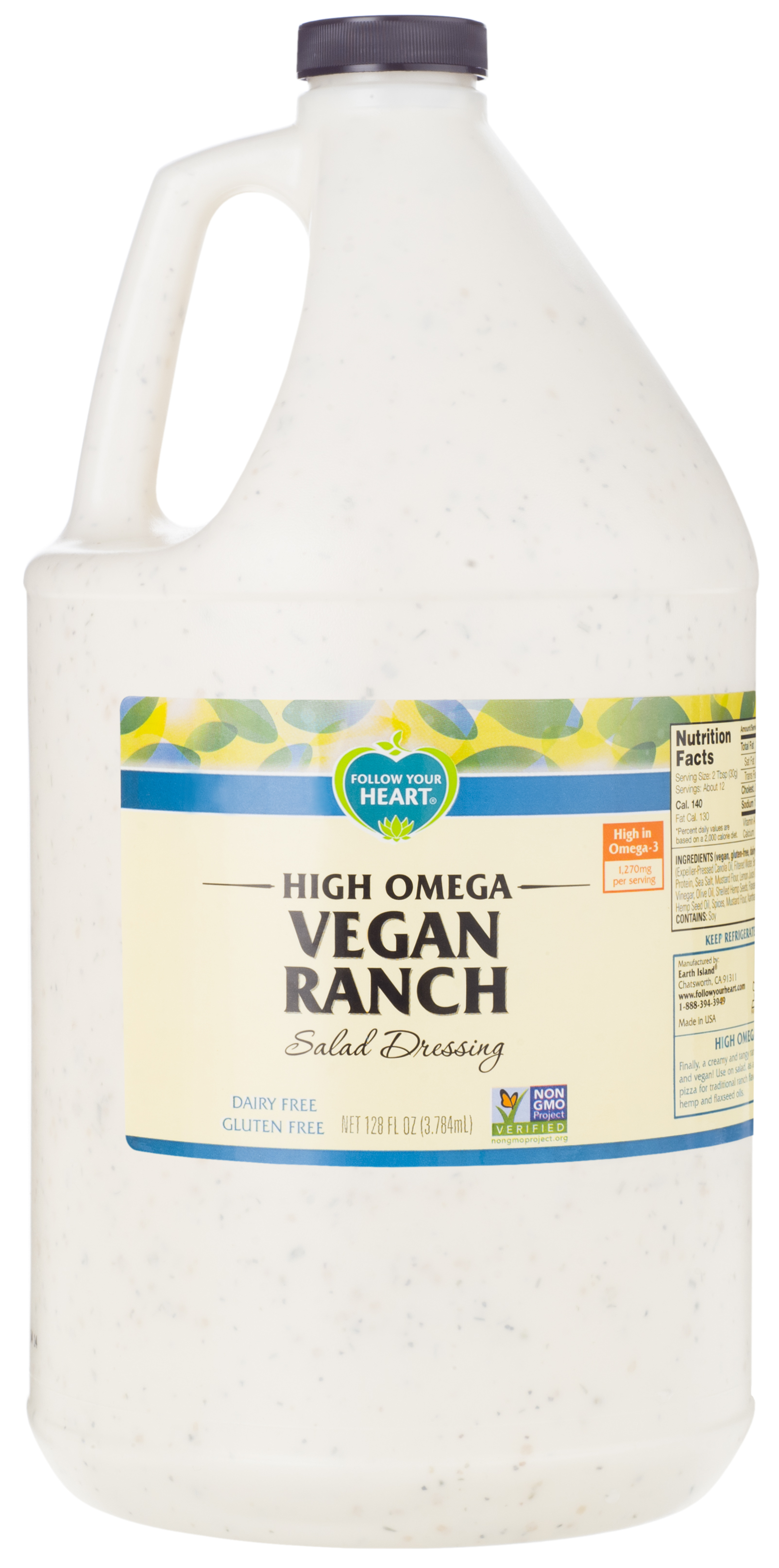 RANCH HI OMEGA VEGAN FOLLOW 1 GAL