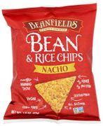 BEAN & RICE CHIPS NACHO BEANFIELDS 24/1.5 OZ