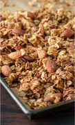 GRANOLA MAPLE ALMOND GOLDTEMP 25 LBS