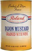 MUSTARD DIJON GRAINY ROLAND 8.56 LBS