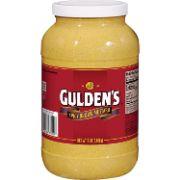 MUSTARD SPICY GULDENS 1 GAL