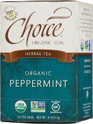 TEA PEPPERMINT OG CHOICE 6/16 BAGS