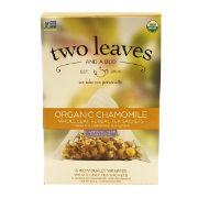 TEA SACHETS CHAMOMILE OG TWO LEAVES 6/15 BAG