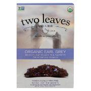 TEA SACHETS EARL GREY OG TWO LEAVES 6/15 BAG