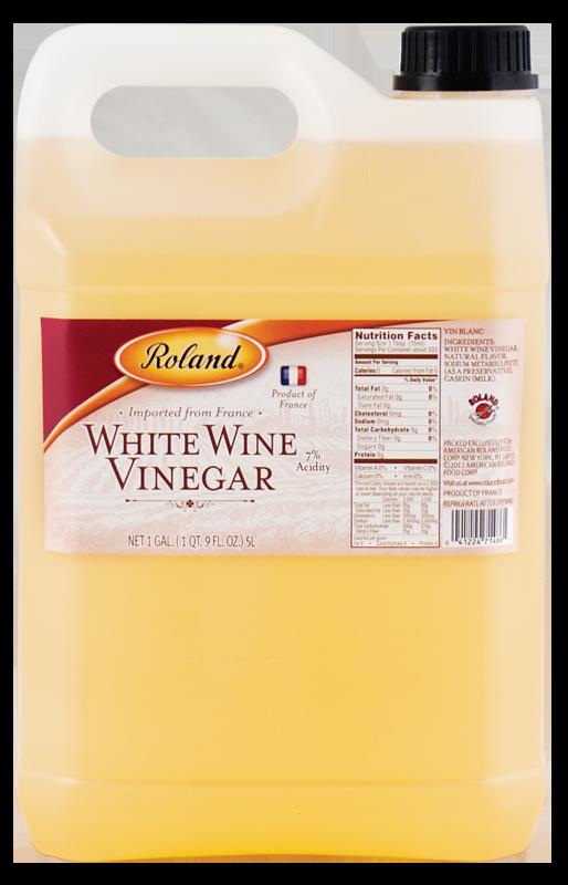 VINEGAR FRENCH WHITE WINE ROLAND 4/5 LTR