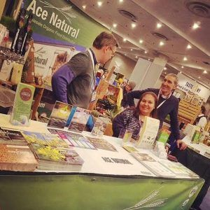 Ace's Booth @ The 2017 NY Restaurant Show - Ace Natural